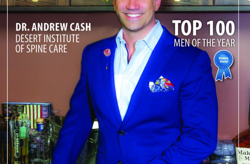 Dr Andrew Cash Top 100 Men of the Year