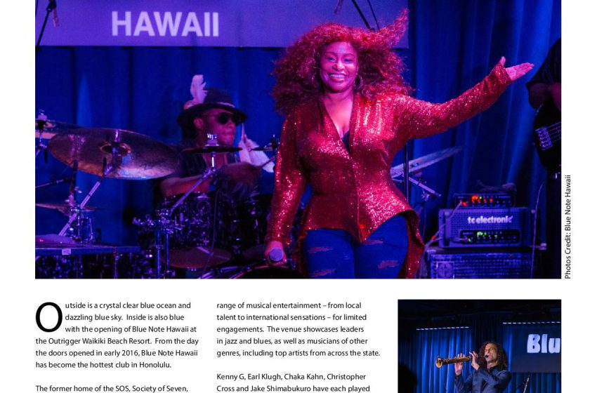 Blue Note Hawaii Hits the Right Note as Waikiki's Hottest New Club
