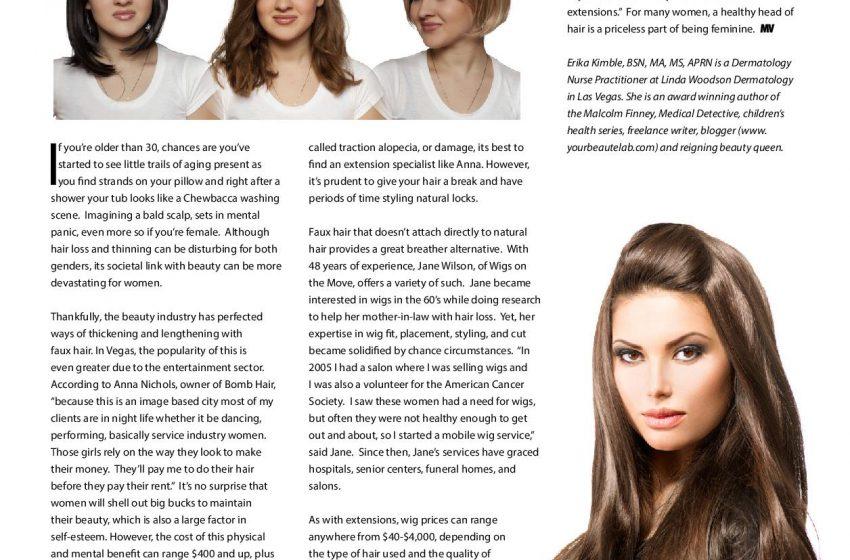 Hair Augmentation: The Art of Faux Locks