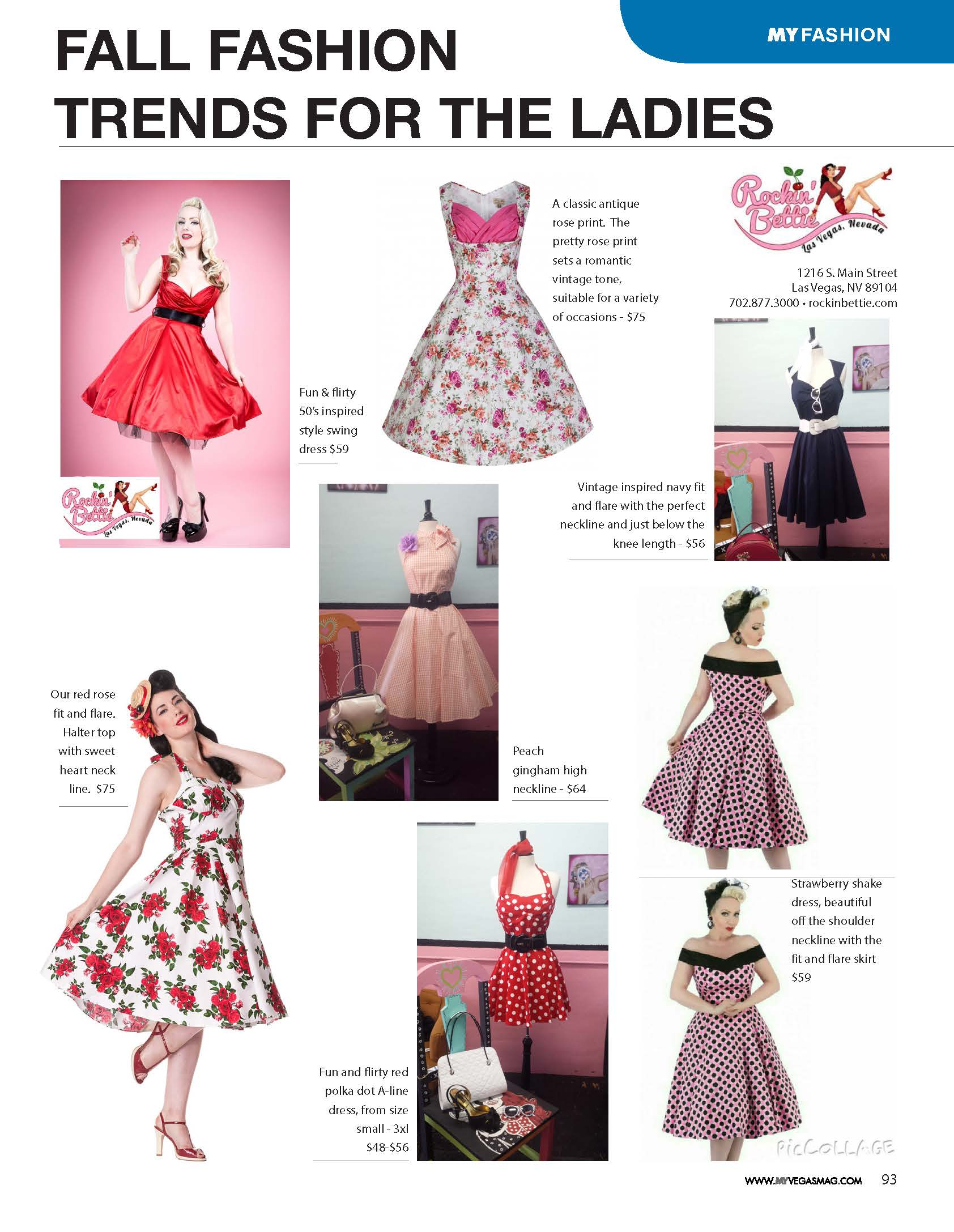 Pin Up Style with Rockin Bettie