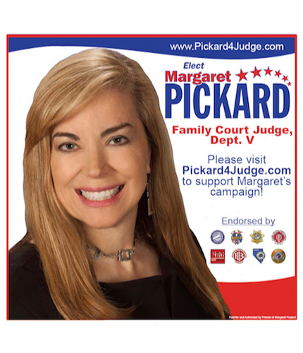 Margaret Pickard for Family Court Judge