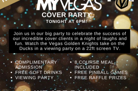 MyVegas Cover Party! Join us TONIGHT!