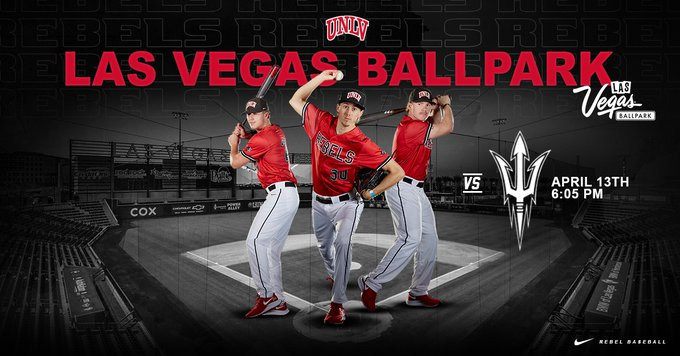 CANCELLED – UNLV Baseball at Las Vegas Ballpark