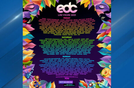 EDC 2021 Lineup Released!